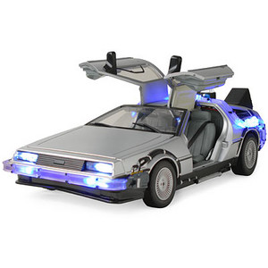 toy delorean back to the future