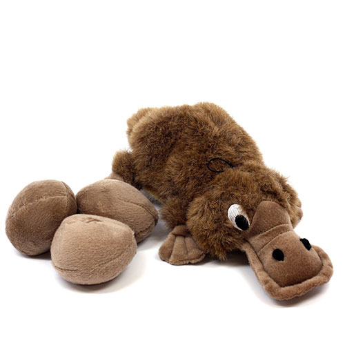 Platypus dog toy on Amazon.com.