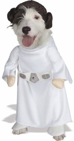 star wars princess leia dog costume on amazon.com