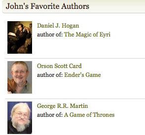 Daniel J. Hogan, Orson Scott Card and George R. R. Martin on Goodreads.