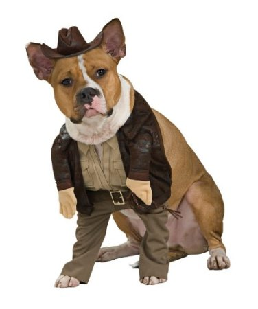 Indiana jones dog costume on amazon.