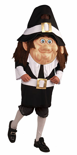 adult Pilgrim parade costume on Amazon.