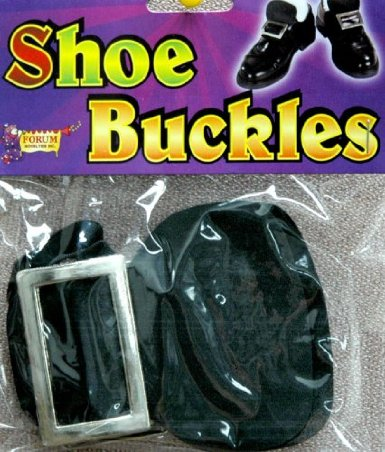 Pilgrim and/or witch costume shoe buckles on amazon.