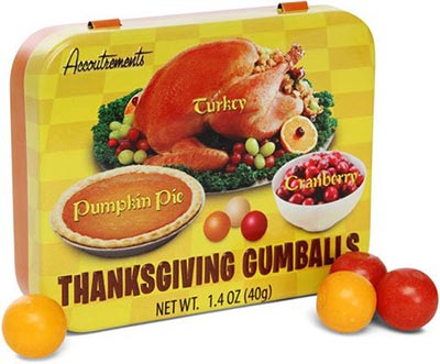 thanksgiving dinner gumballs on amazon.