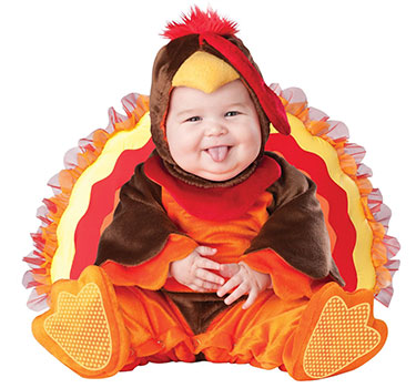 infant thanksgiving turkey costume on Amazon.