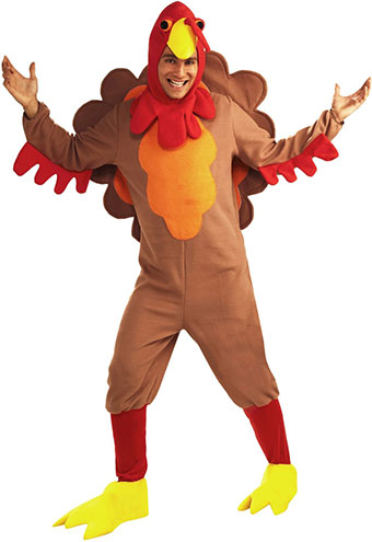adult turkey thankgiving costume on amazon.