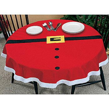 santa claus table cloth christmas decoration on amazon - Amazon Christmas Decorations
