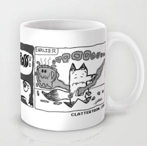 clattertron coffee mug
