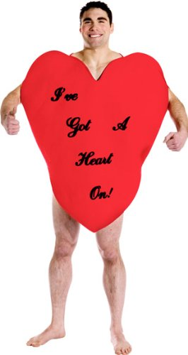 valentine's day heart costume