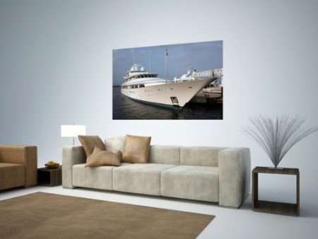 yacht wall sticker