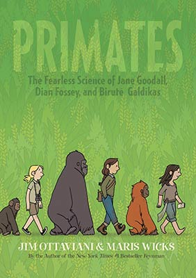 primates graphic novel
