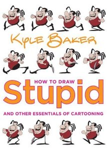 how to draw stupid baker