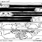 cat comic clattertron hogan