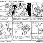 cat shaming iii christmas comic