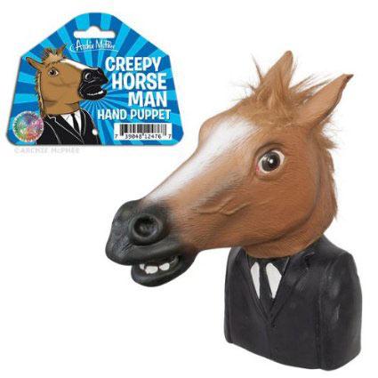 Horse man puppet