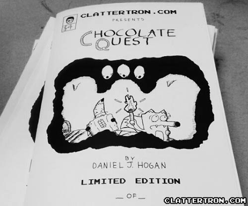 chocolate quest comic book