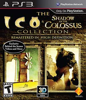 ico shadow of the colossus ps3