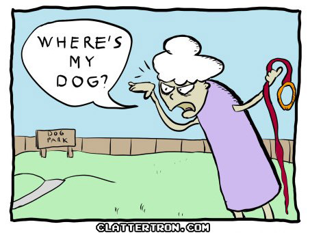 Doggy dog comic