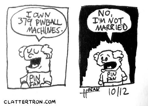 inktober 12 pinball