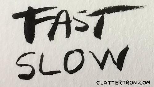 pen strokes lettering