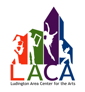ludington area center for the arts logo