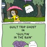 guilt trip ghost guiltin in the rain comic