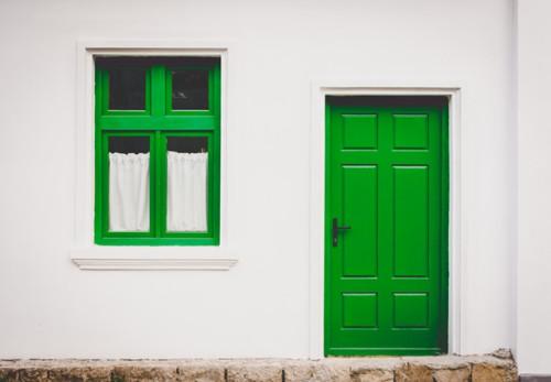 green door Marius Buzac