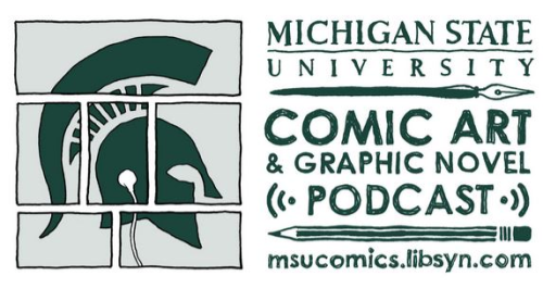 msu comic art and graphic novel podcast